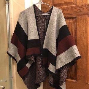 Vince Camuto sweater like ruana